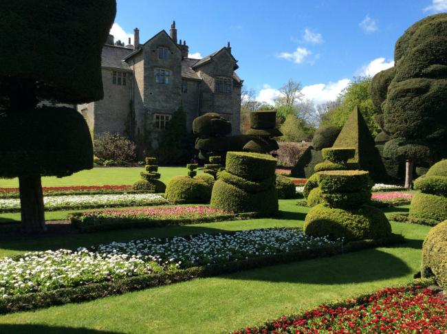 The gardens at Levens Hall