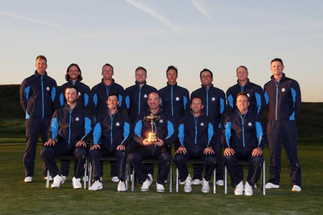 UP FOR THE CUP: Europe's golfers will begin their attempt to reclaim the Ryder Cup when they tee up this morning