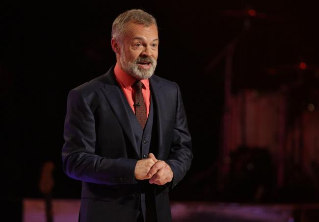 Graham Norton during the filming of the Graham Norton Show at the London Studios in London/Picture: Daniel Leal-Olivas/PA Photos