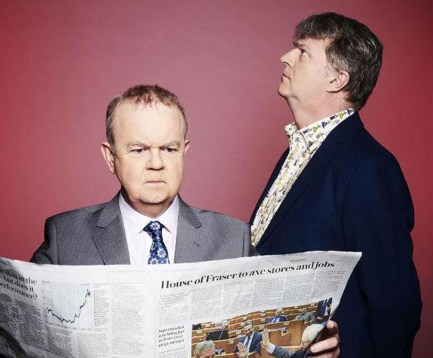 Have I Got News For You  Picture Shows:  Ian Hislop, Paul Merton