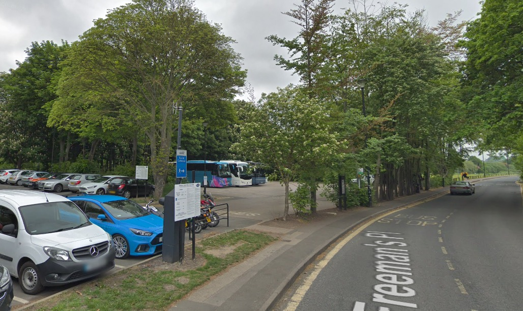 Durham County Council has submitted plans to move Durham city's coach park to Belmont Park and Ride Picture: Google