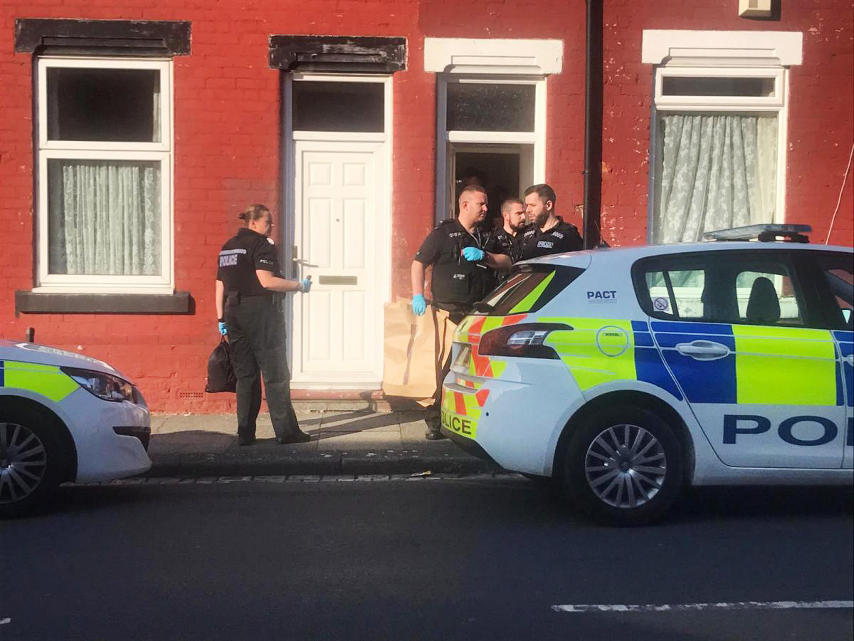 Heavy police presence in Darlington street - injured person taken to hospital