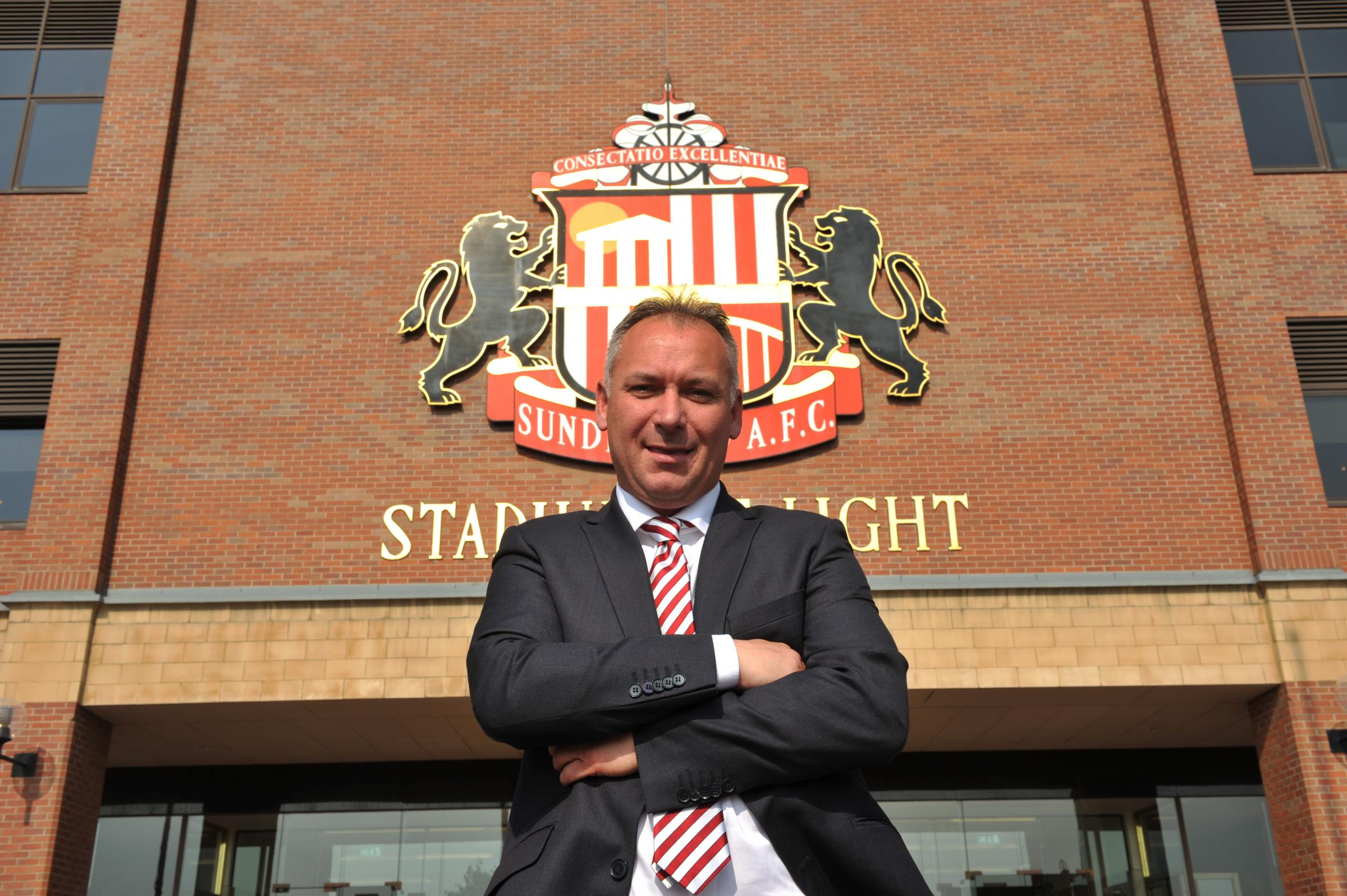 ROLE: Sunderland AFC chairman, Stewart Donald, has joined the board of trustees at the Foundation of Light