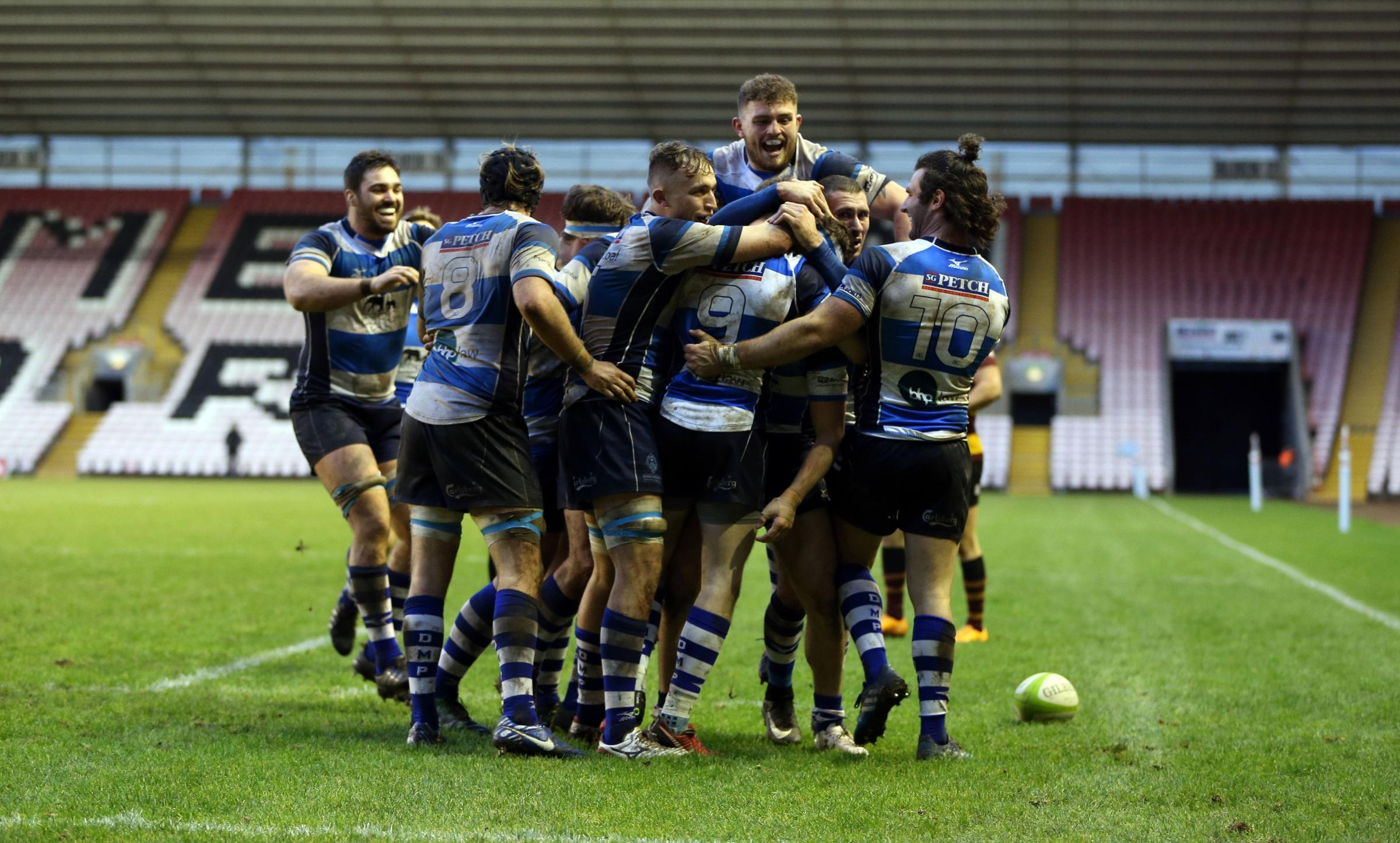 HOME COMFORTS: Darlington Mowden Park return to The Northern Echo Arena for a home game against Sale FC