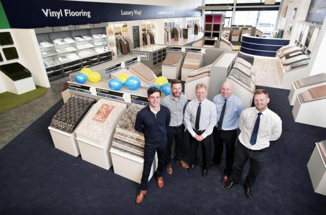 Franks Opens New Flooring Store The Northern Echo