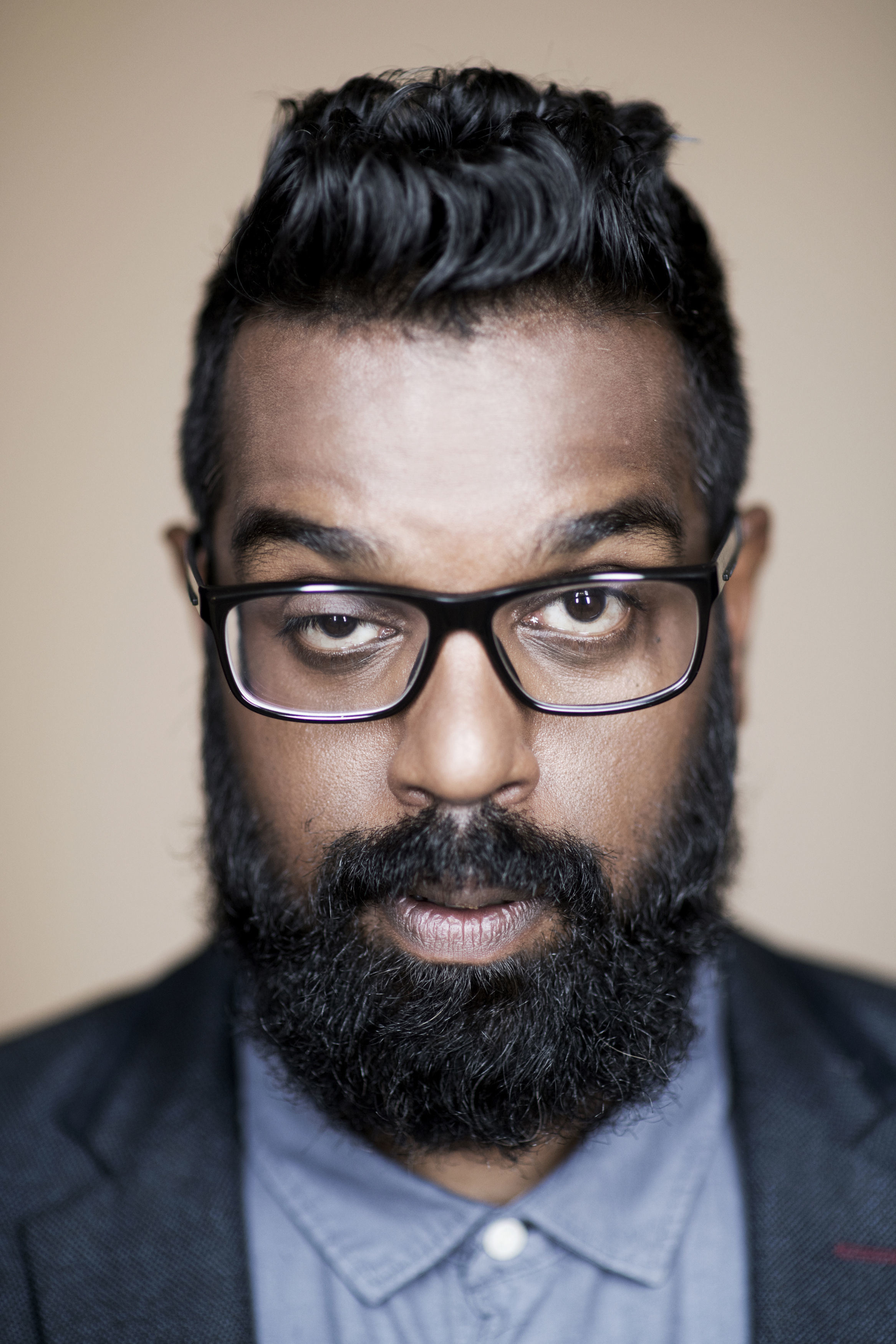 Romesh Ranganathan. See PA Feature BOOK Ranganathan. Picture credit should read: Rich Hardcastle/PA. WARNING: This picture must only be used to accompany PA Feature BOOK Ranganathan.