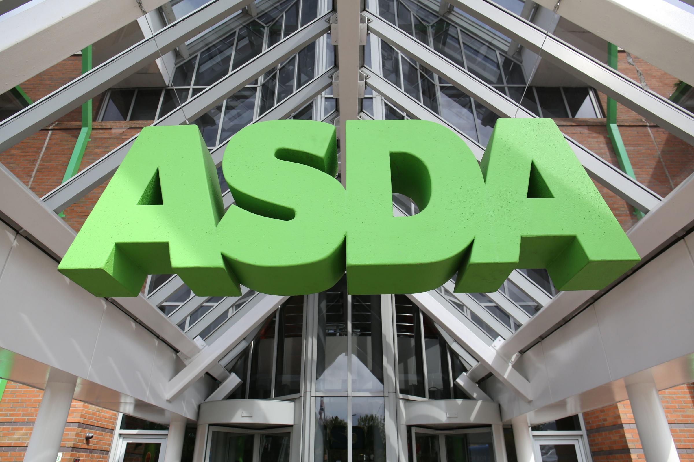 File photo dated 01/05/15 of an Asda sign. The supermarket giant is heading to the Court of Appeal in a long-running battle over equal pay. PRESS ASSOCIATION Photo. Issue date: Wednesday October 10, 2018. The Employment Appeal Tribunal (EAT) decided last