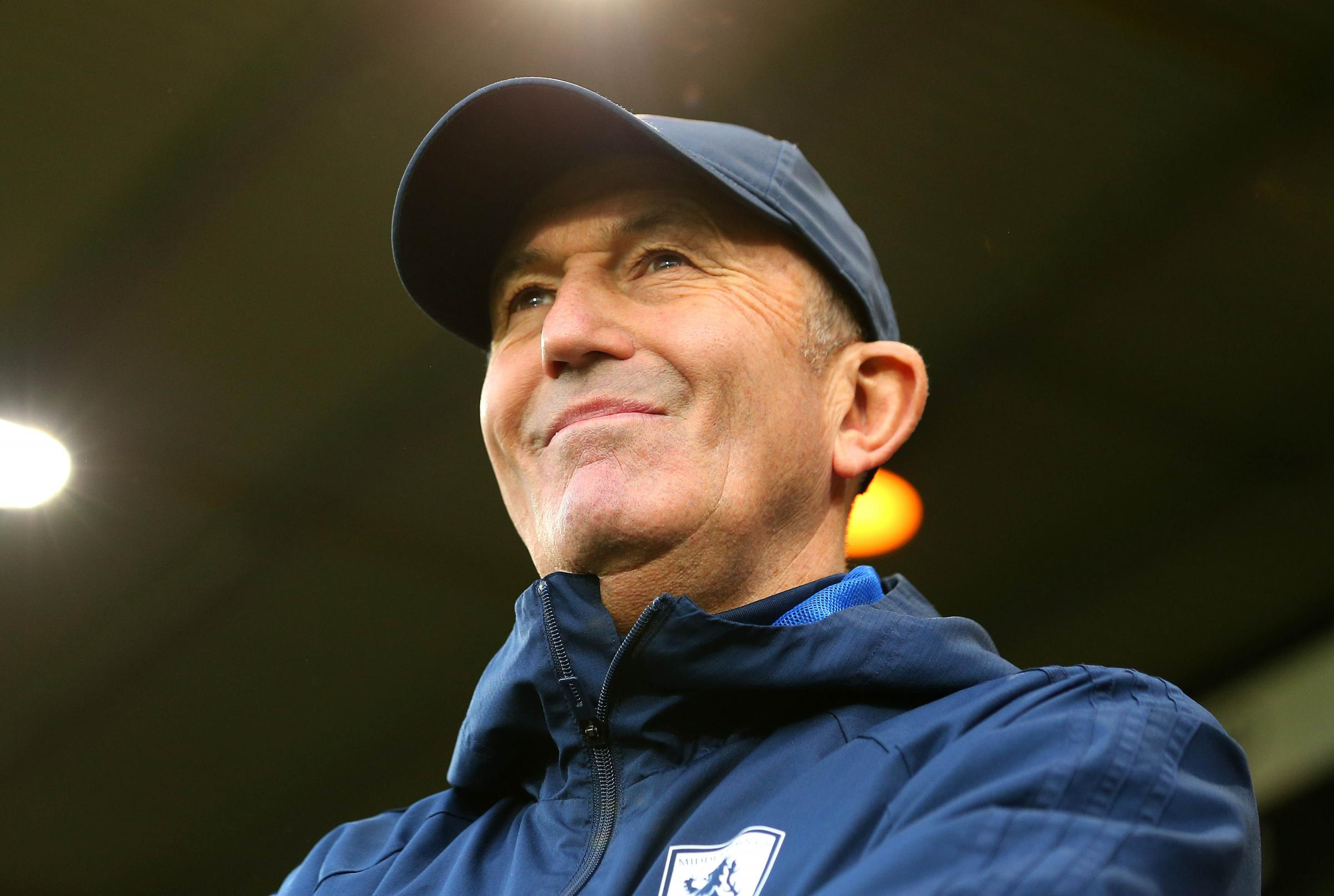 Tony Pulis wants good vibes at Middlesbrough