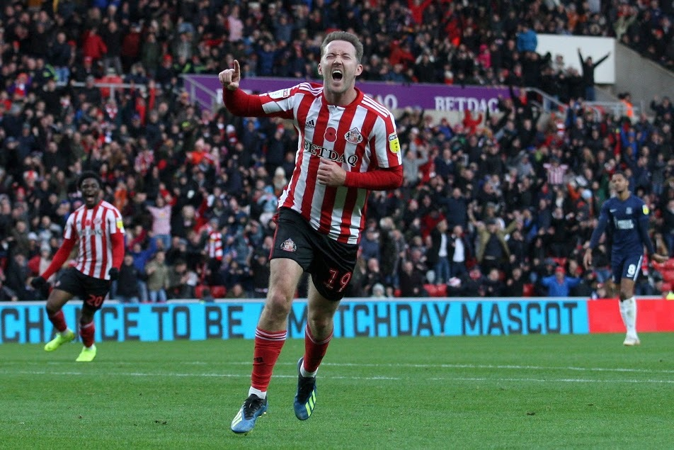 ON TARGET: Aiden McGeady scored after coming off the bench in Sunderland's weekend win over Southend United