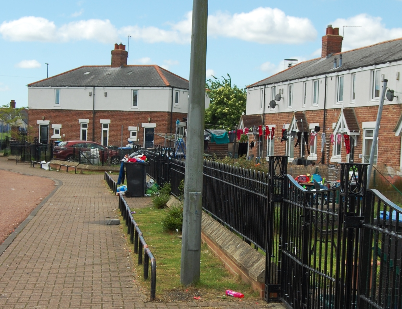 Oswald Close, which is part of the Sherburn Road Estate.