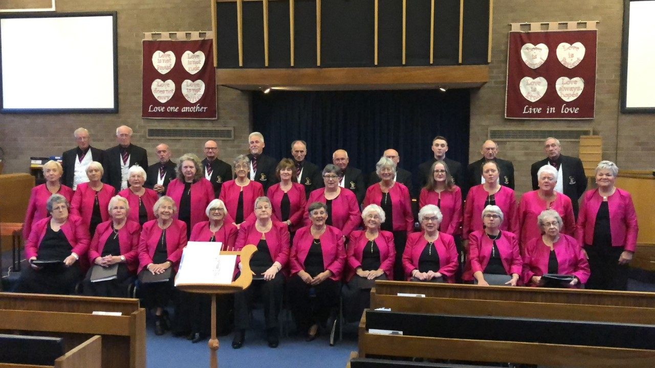 STAR QUALITY: Members of Consett Community Choir