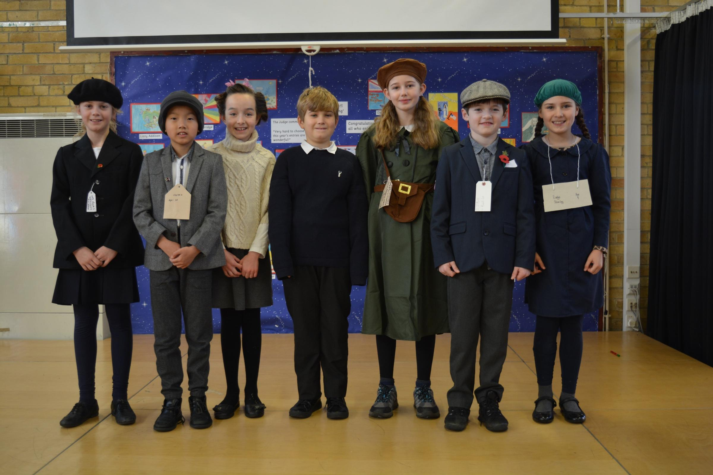 EDUCATIONAL TRIP: Year 5 pupils from Sedgefield Primary School dressed as evacuees for a day at Beamish Museum