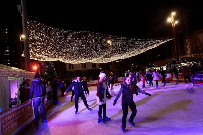 Christmas Ice Skating.Christmas Ice Rink To Open In Sunderland Later This Month