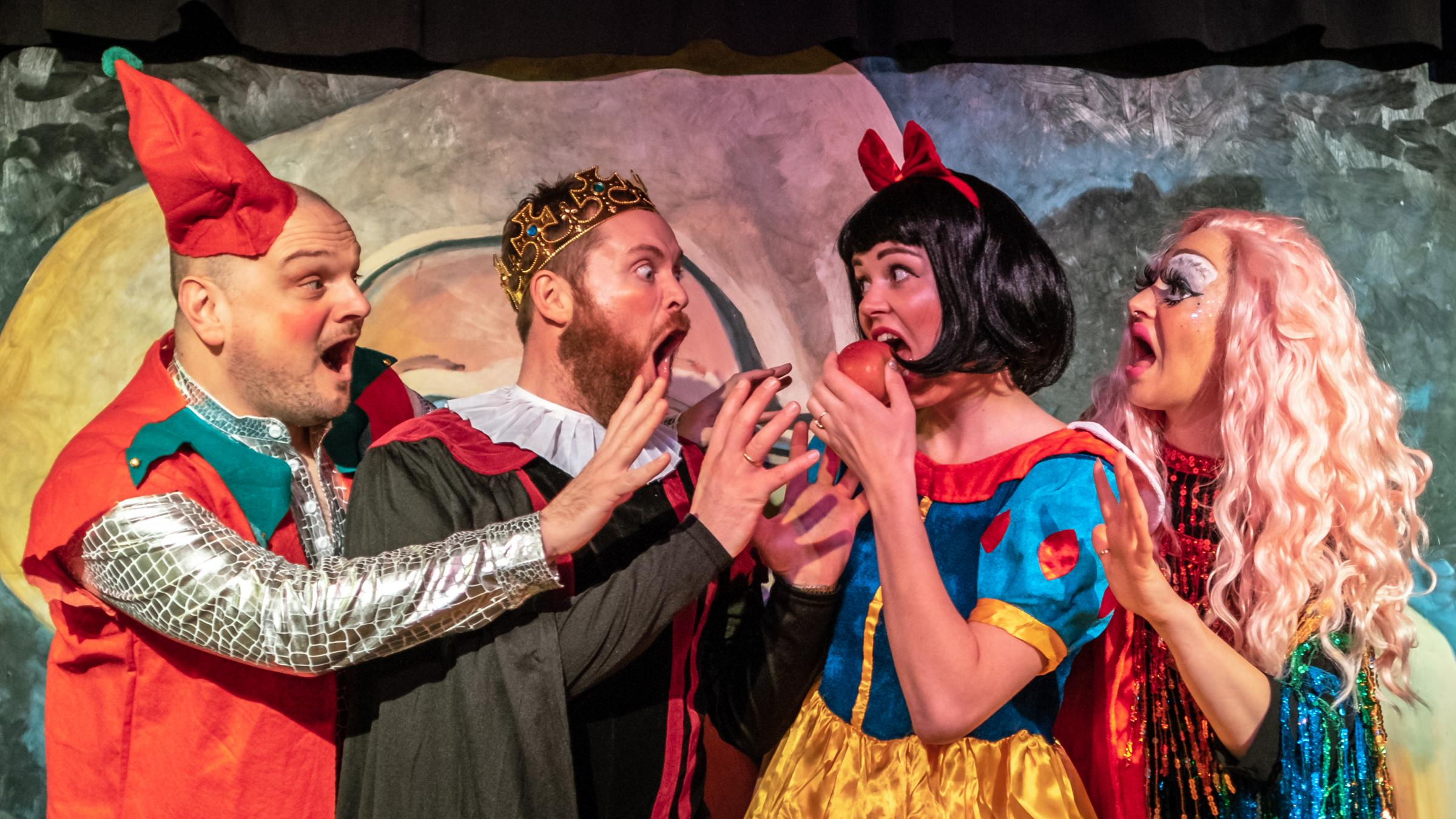 CHRISTMAS PANTO: Snow White 2: Appley Ever After will be performed at The Stand comedy club in Newcastle