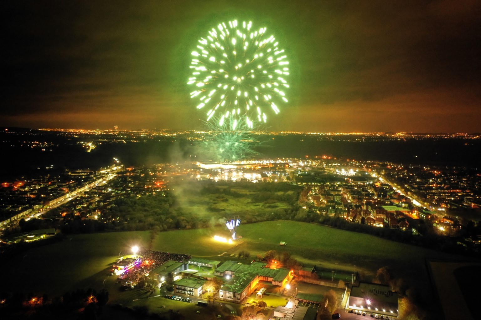 Fireworks Display Raised More Than 16 500 For Durham Hospice The