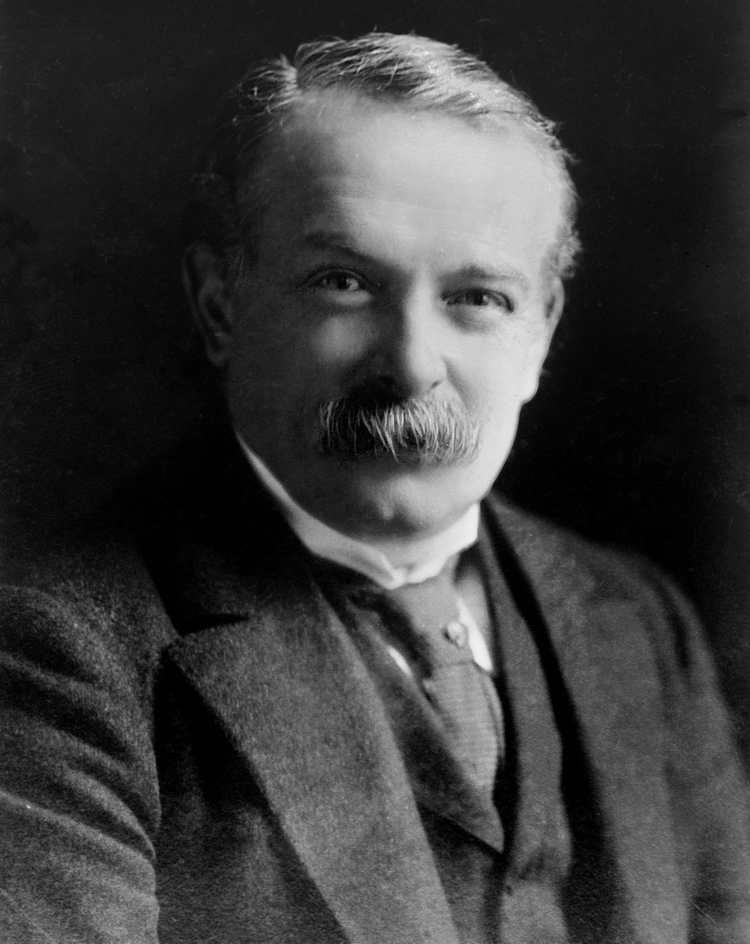 ELECTION WINNER: Coalition Prime Minister David Lloyd George