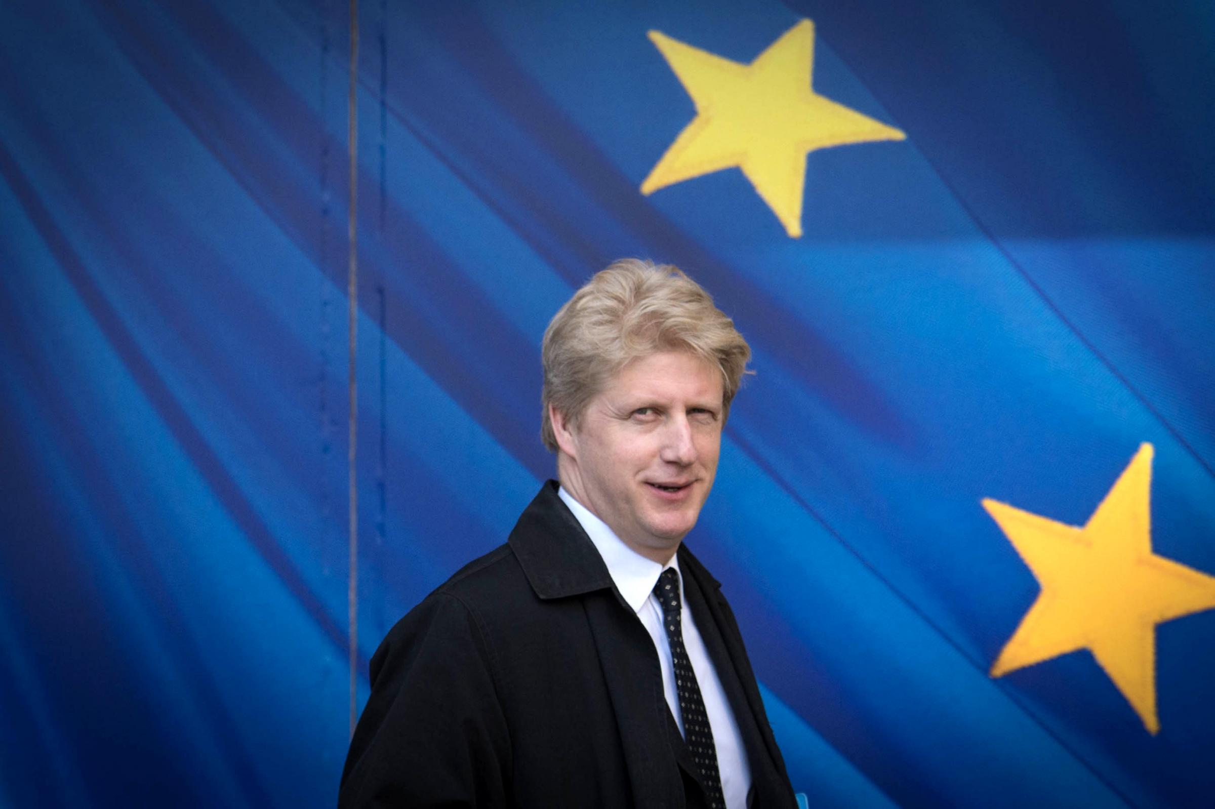 Jo Johnson visiting the European Commission in Brussels. Picture: PA Wire