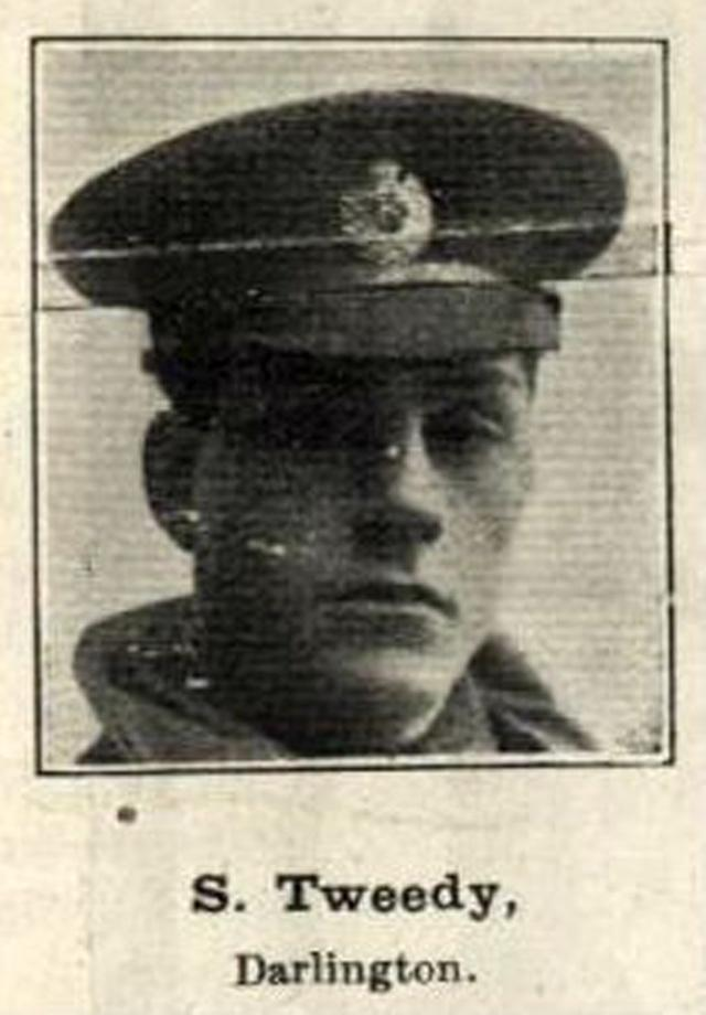 ARMISTICE DEATH: Sapper Sidney Tweedy, of Darlington, who died on November 11, 1918. Picture courtesy of the Head of Steam museum