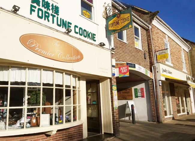 ROBBERY: Fortune Cookie Chinese Restaurant, in Great Ayton. Picture: Matt Westcott