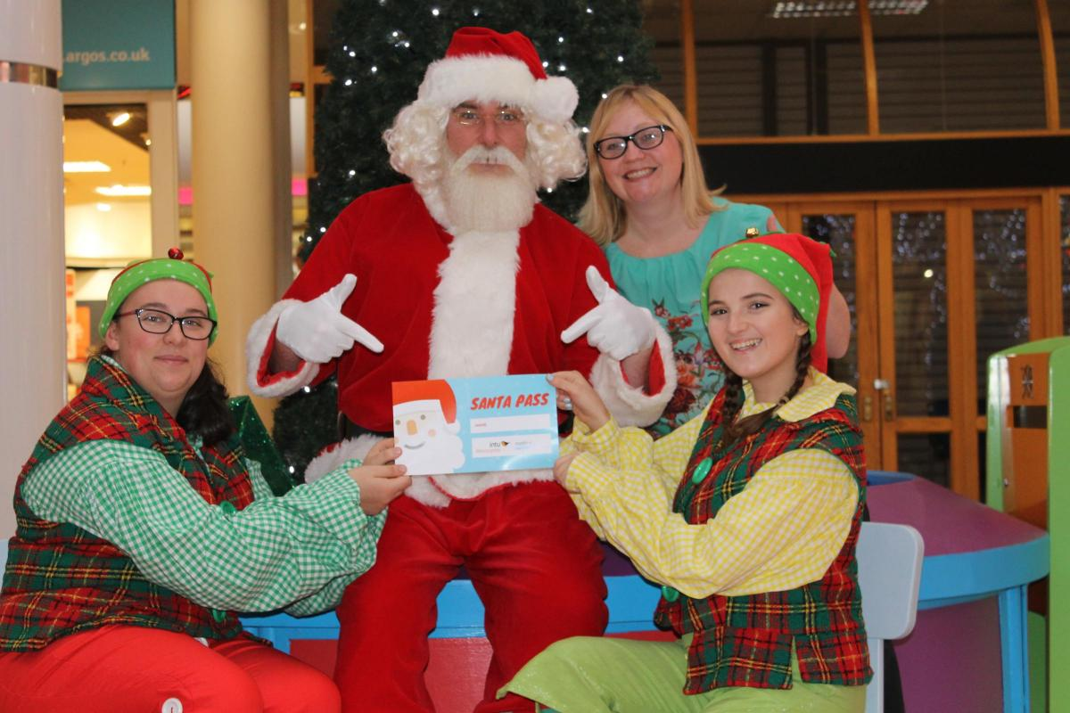 Santa And His Elves Learn How To Make Christmas Magic For Autistic Children The Northern Echo