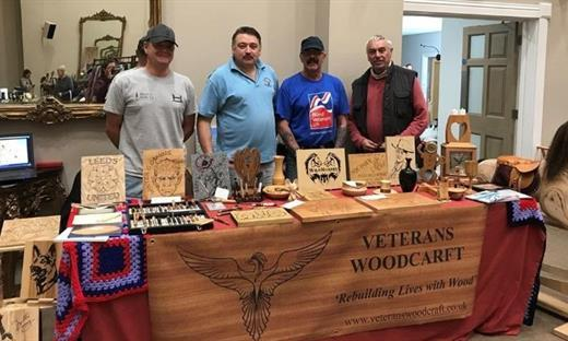 WOOD-CRAFT: Ted Granger, Bob Taylor, Jeremy Williamson and Chris Morgan