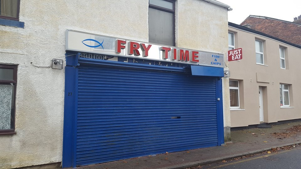 CONCERNS RAISED: Fry Time fish and chip shop in West Cornforth Picture: DURHAM POLICE