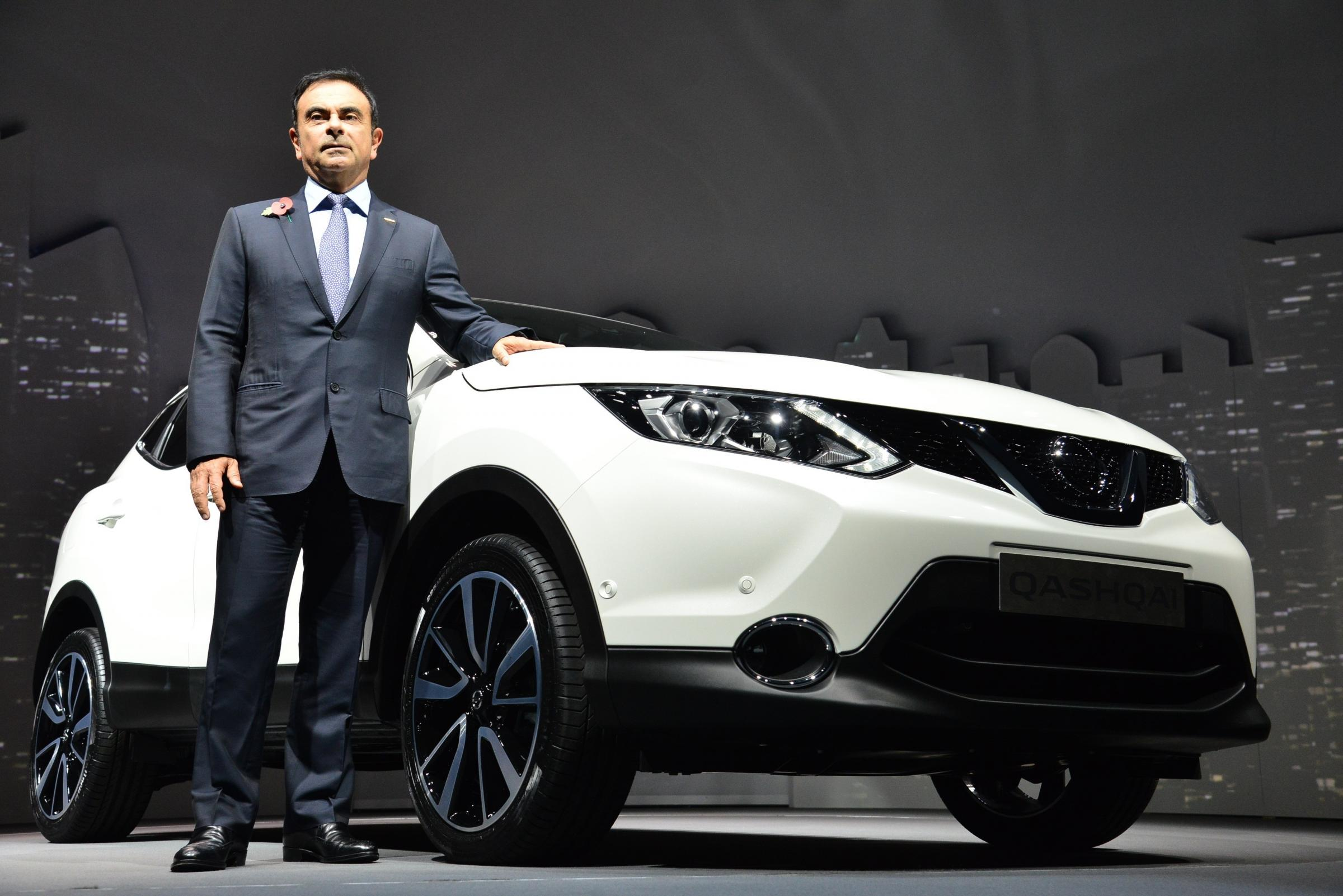 Nissan to dismiss chairman, Carlos Ghosn, above, after he under-reported income