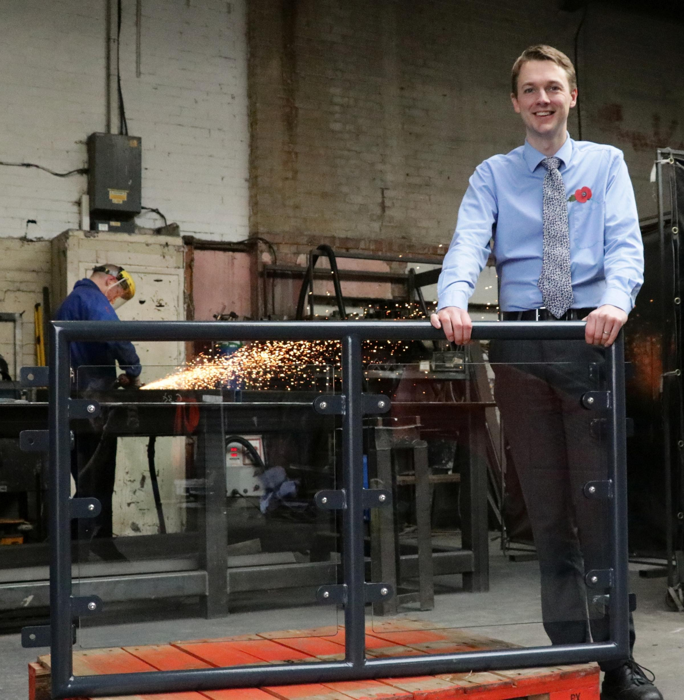 EXPANSION: Matthew Rodgers, managing director of Steelcraft Ltd