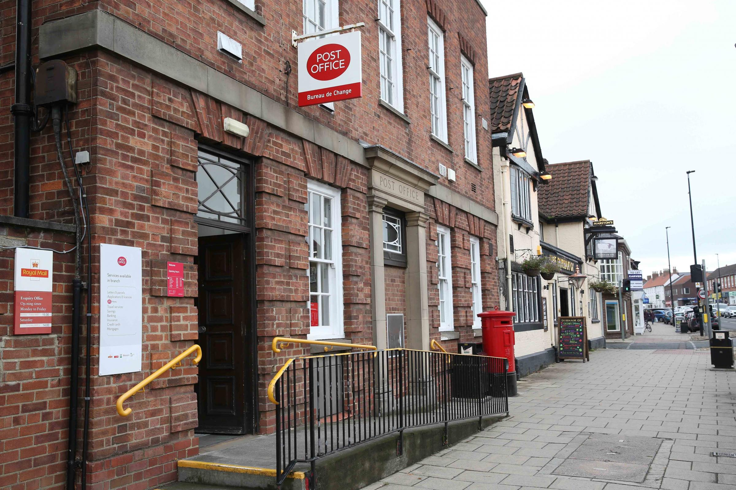 Mp seeks reassurances over support for post offices york news