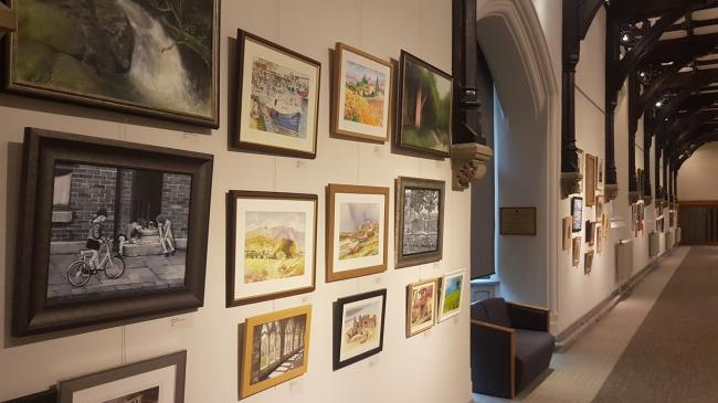 TALENT: The exhibition at Ushaw features work by local artists