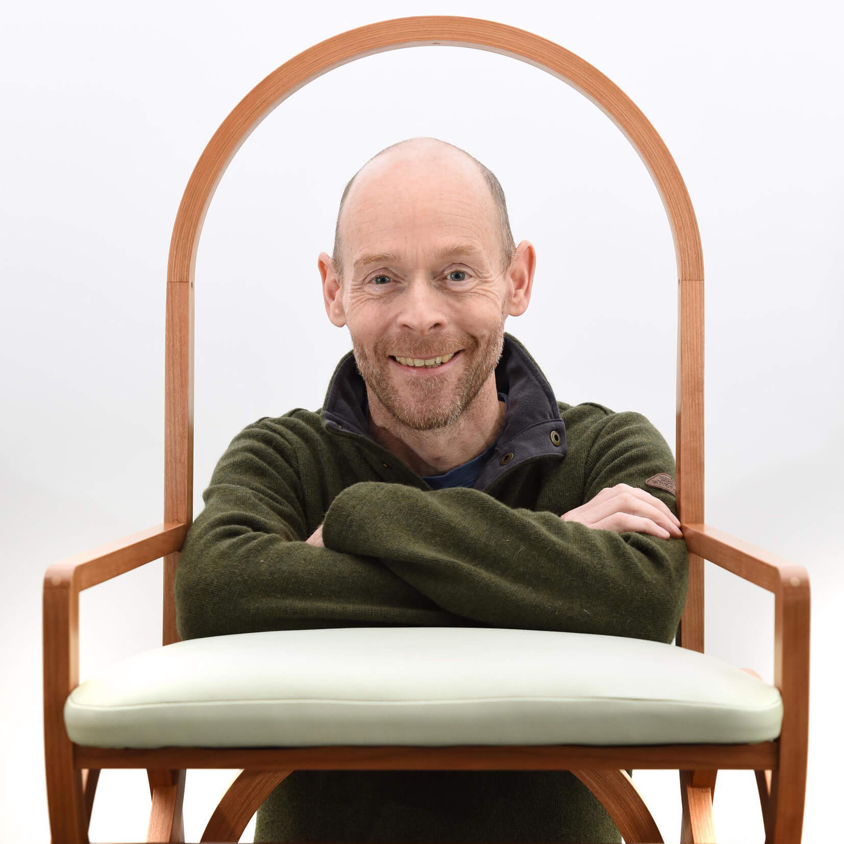 BESPOKE DESIGN: Richard Frost has gone back to the drawing board for career change