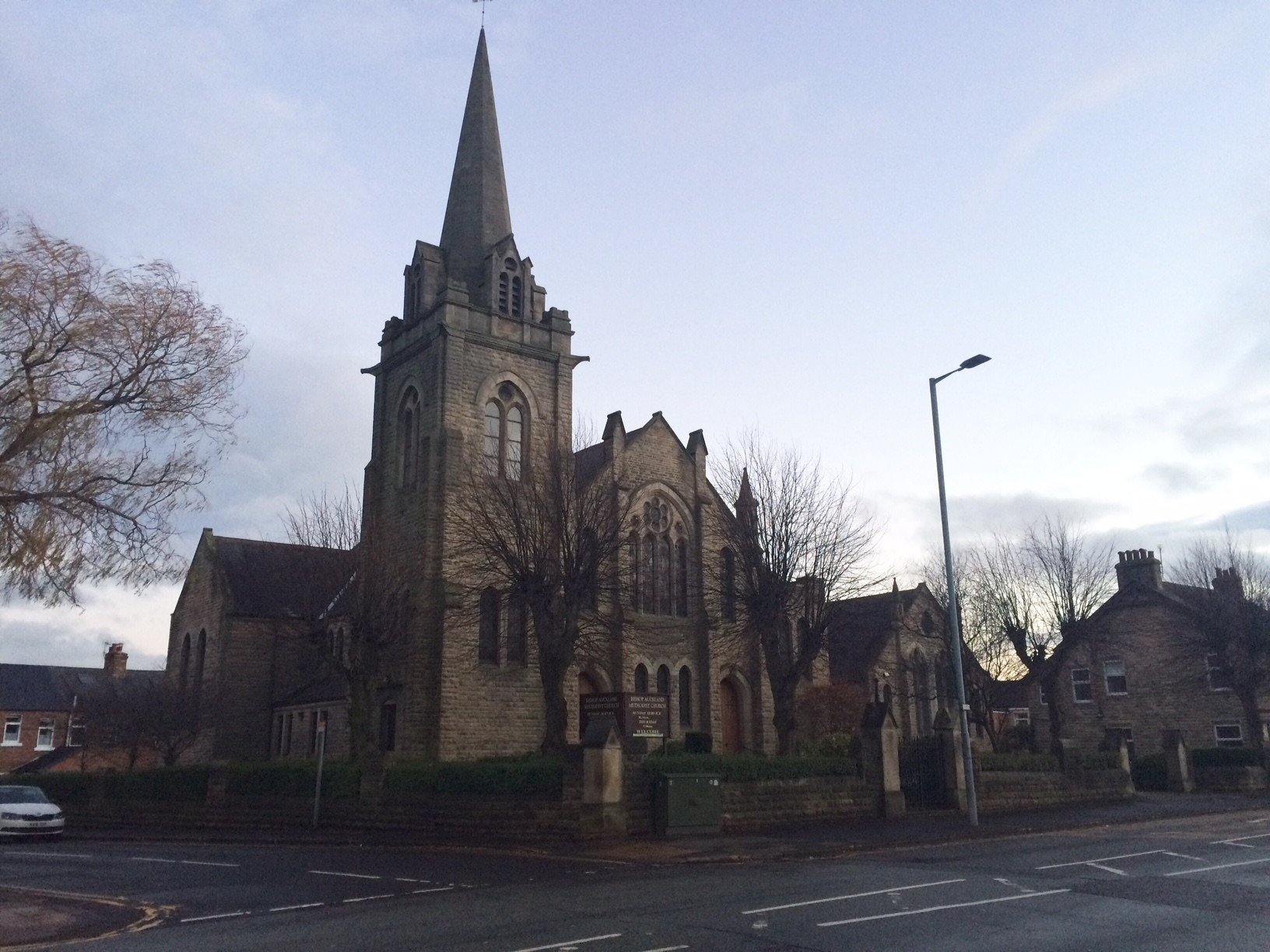 LUNCH VENUE: Bishop Auckland Methodist Church will host a Christmas Day lunch for those feeling lonely