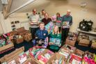 TOY APPEAL: Volunteers are helping out at The Salvation Army in Consett with the annual Christmas toy appeal. Picture: SARAH CALDECOTT
