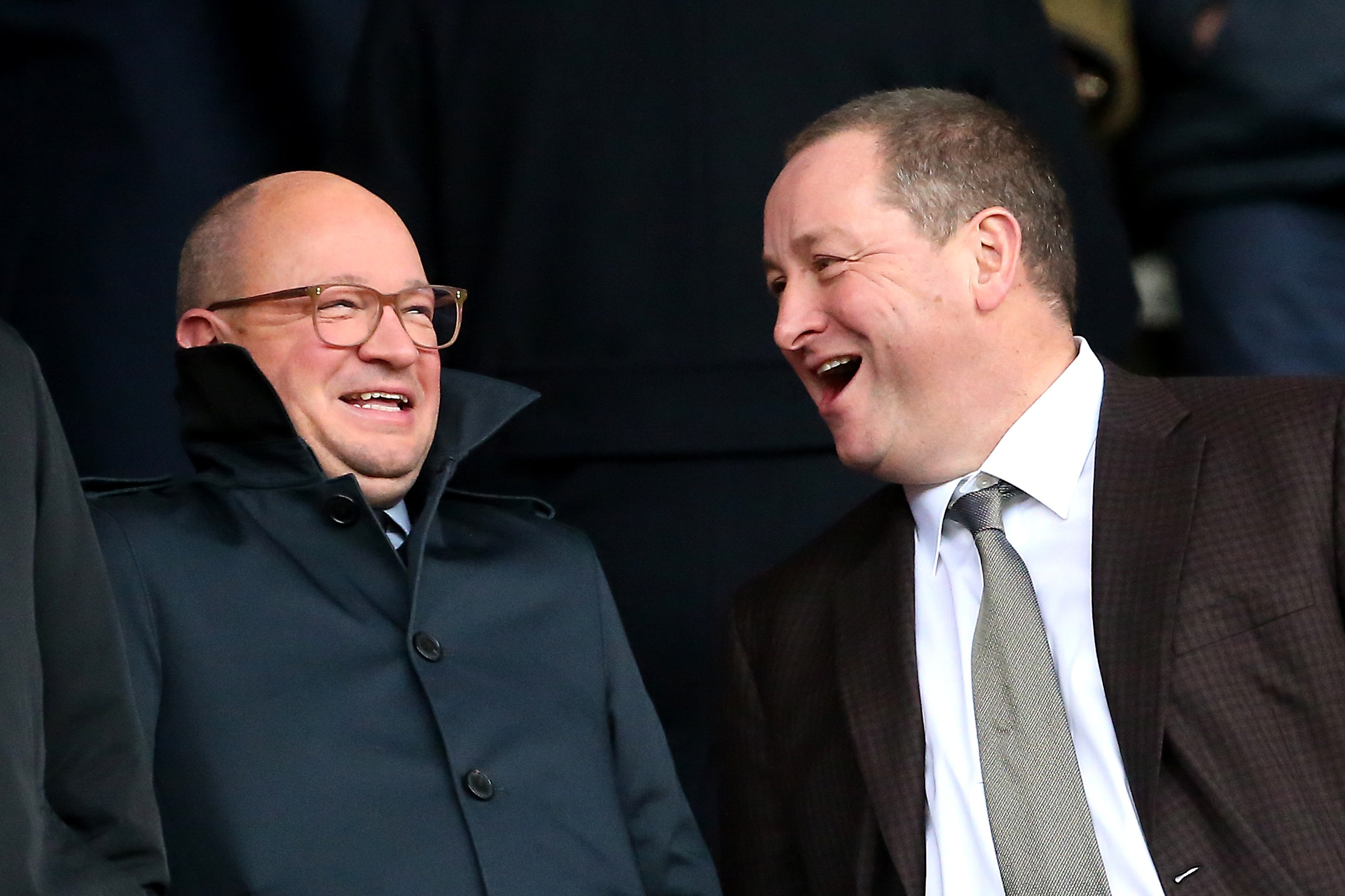 KEEN ON A SALE: Newcastle United owner Mike Ashley