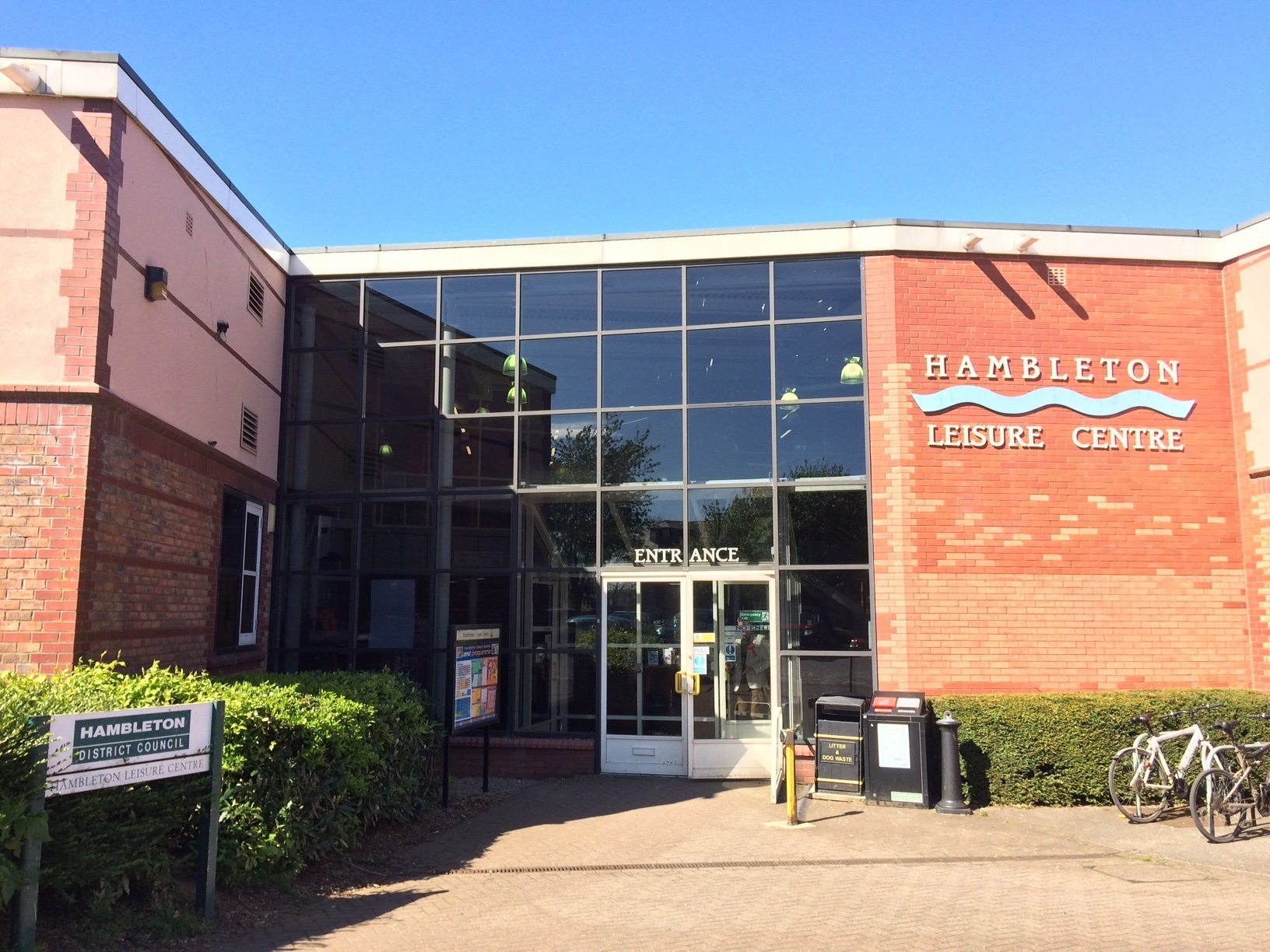 REVAMP: Hambleton Leisure Centre has been renamed as Northallerton Leisure Centre.