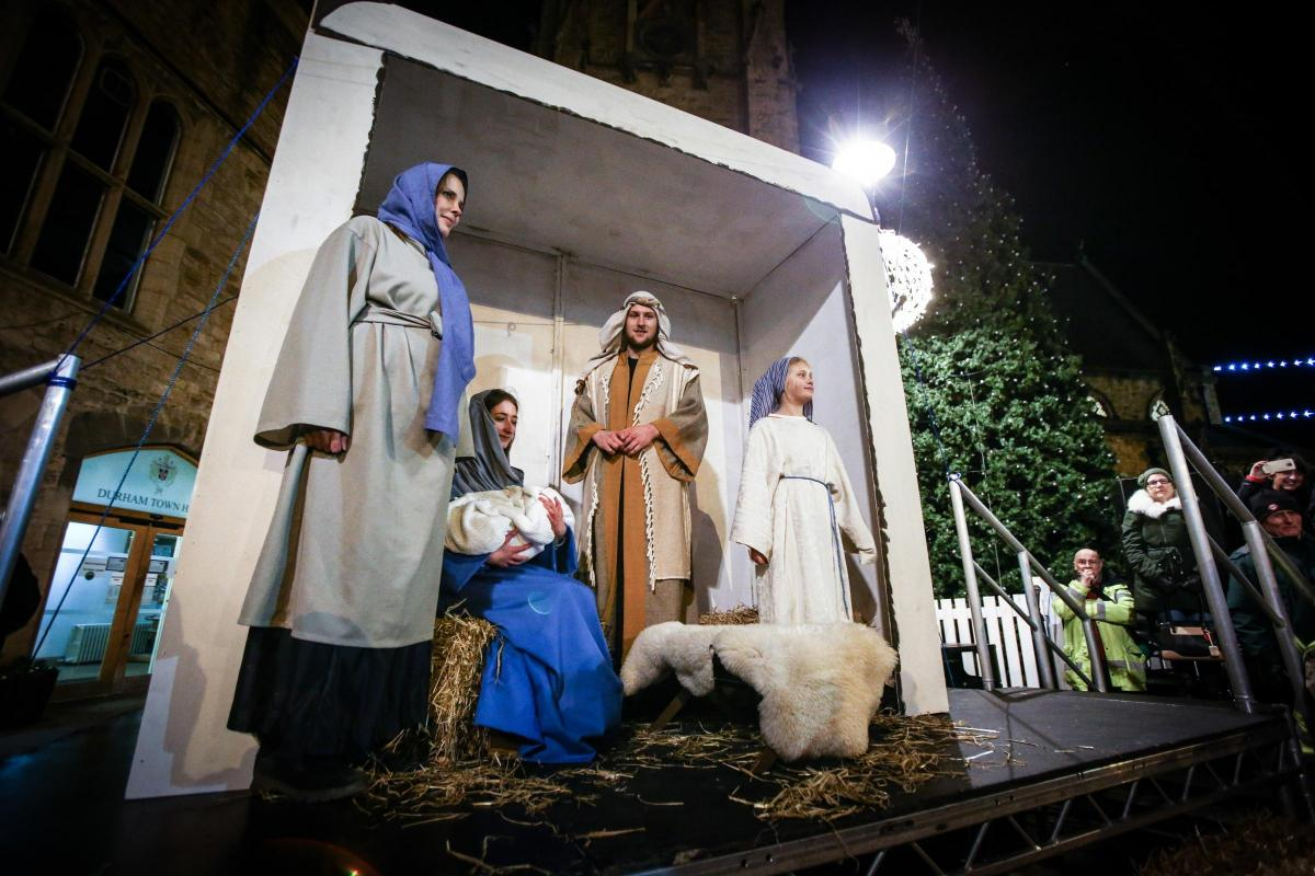 Live Nativity Featuring A Real Baby Returns To Streets Of Durham