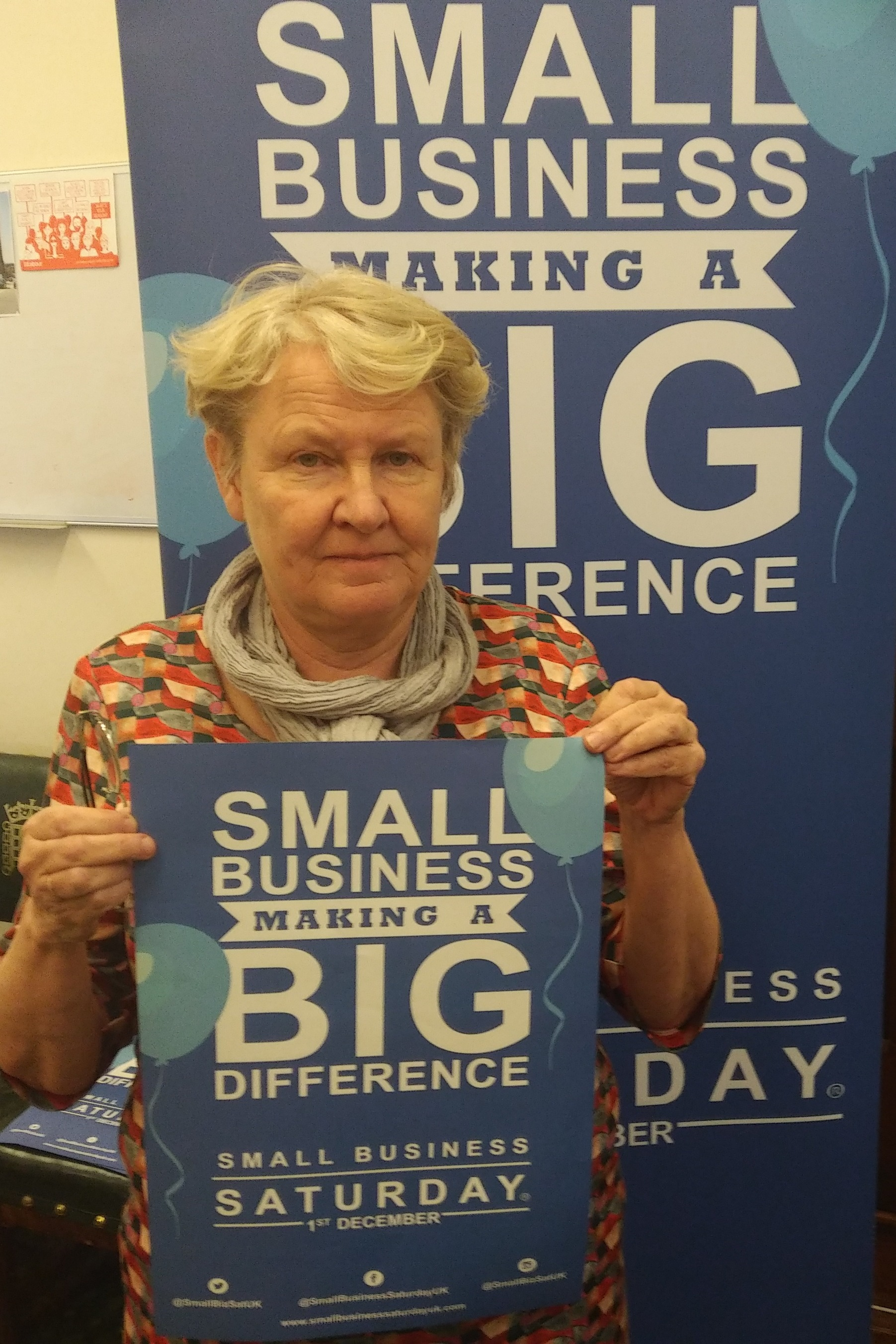 SMALL BUSINESSES: MP Helen Goodman