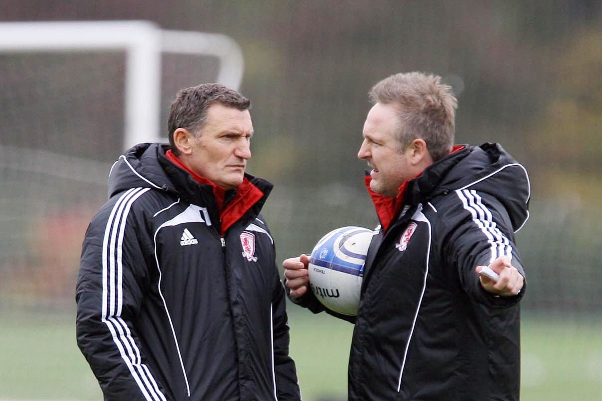Stewart Downing applauds Tony Mowbray for job he did at Boro in difficult circumstances