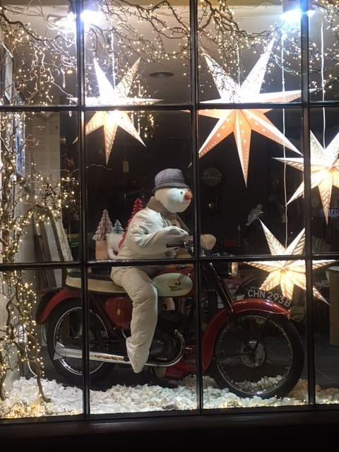 BEST WINDOW: The Red House in Bedale is in the running for the best High Street shop window in Britain