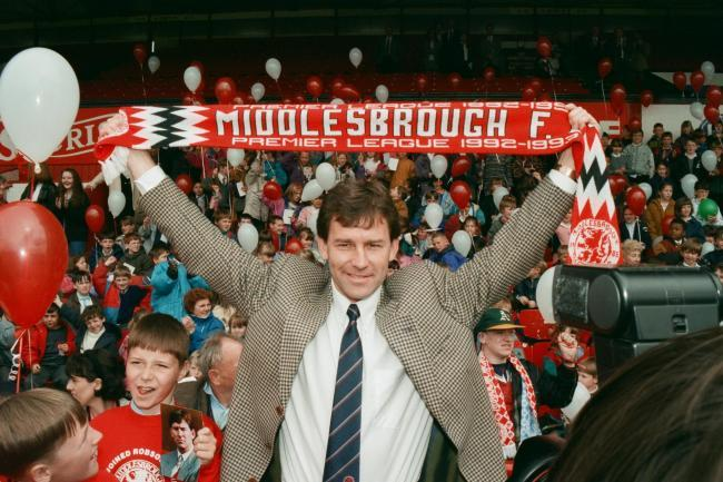 Bryan Robson making a return to Middlesbrough