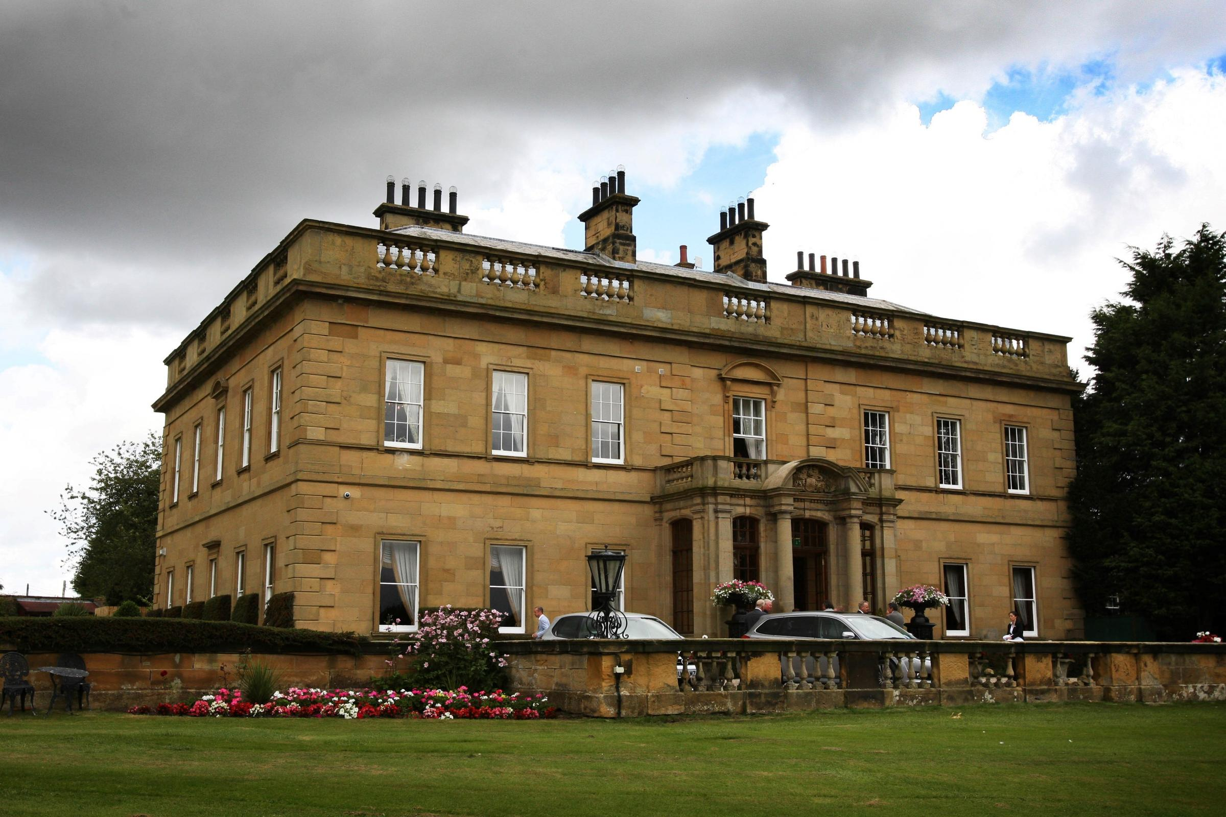 RUDBY HALL OPENING: Rudby Hall Hotel pictured from the  front. Picture: TOM BANKS.