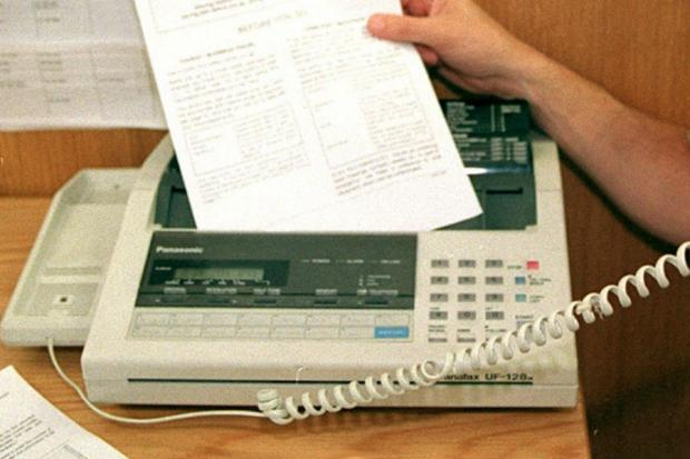 The Northern Echo: A fax machine
