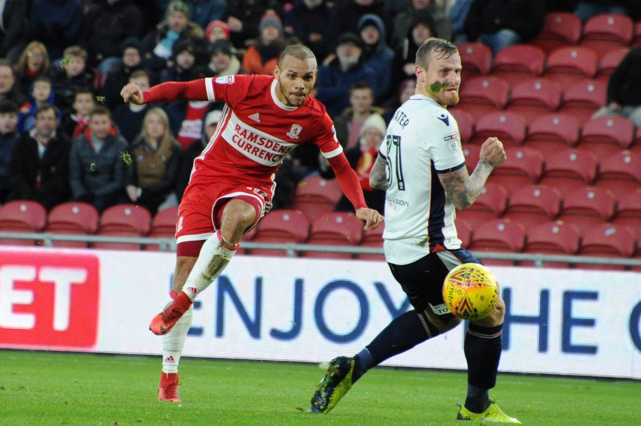Braithwaite's Boro future in major doubt - with a January departure on the cards