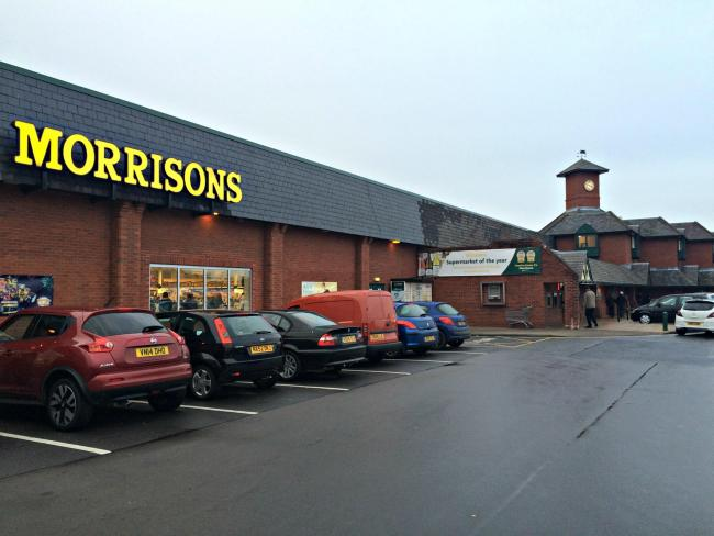MORRISONS: Bishop Auckland Morrisons Picture: LIZZIE ANDERSON.