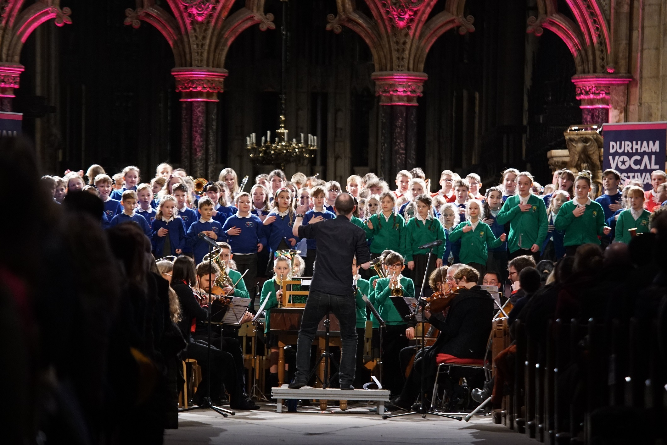 Orchestra for the Age of Enlightenment: Fairy Queen, performed with 250 primary pupils, from 2018's Durham Vocal Festival
