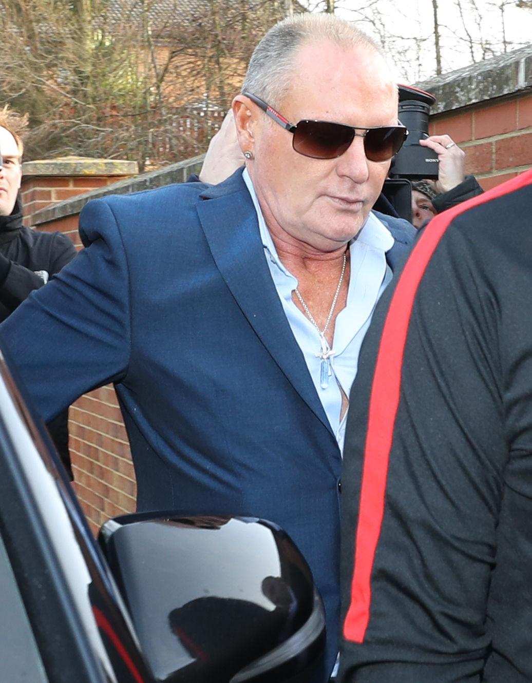 Paul Gascoigne denies the attack on a woman in Darlington