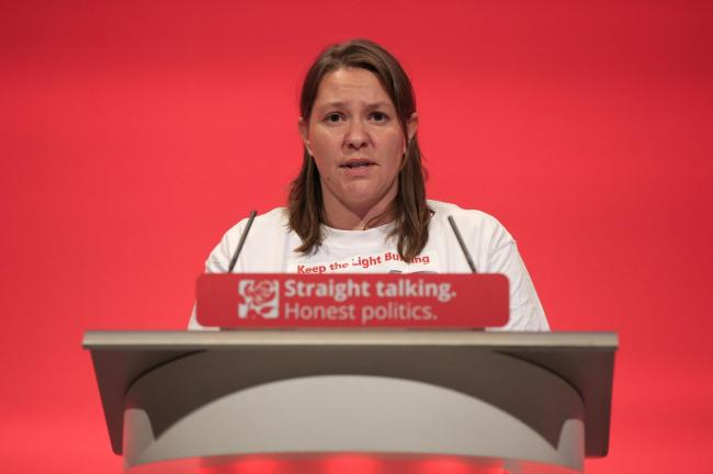 Redcar Labour candidate Anna Turley