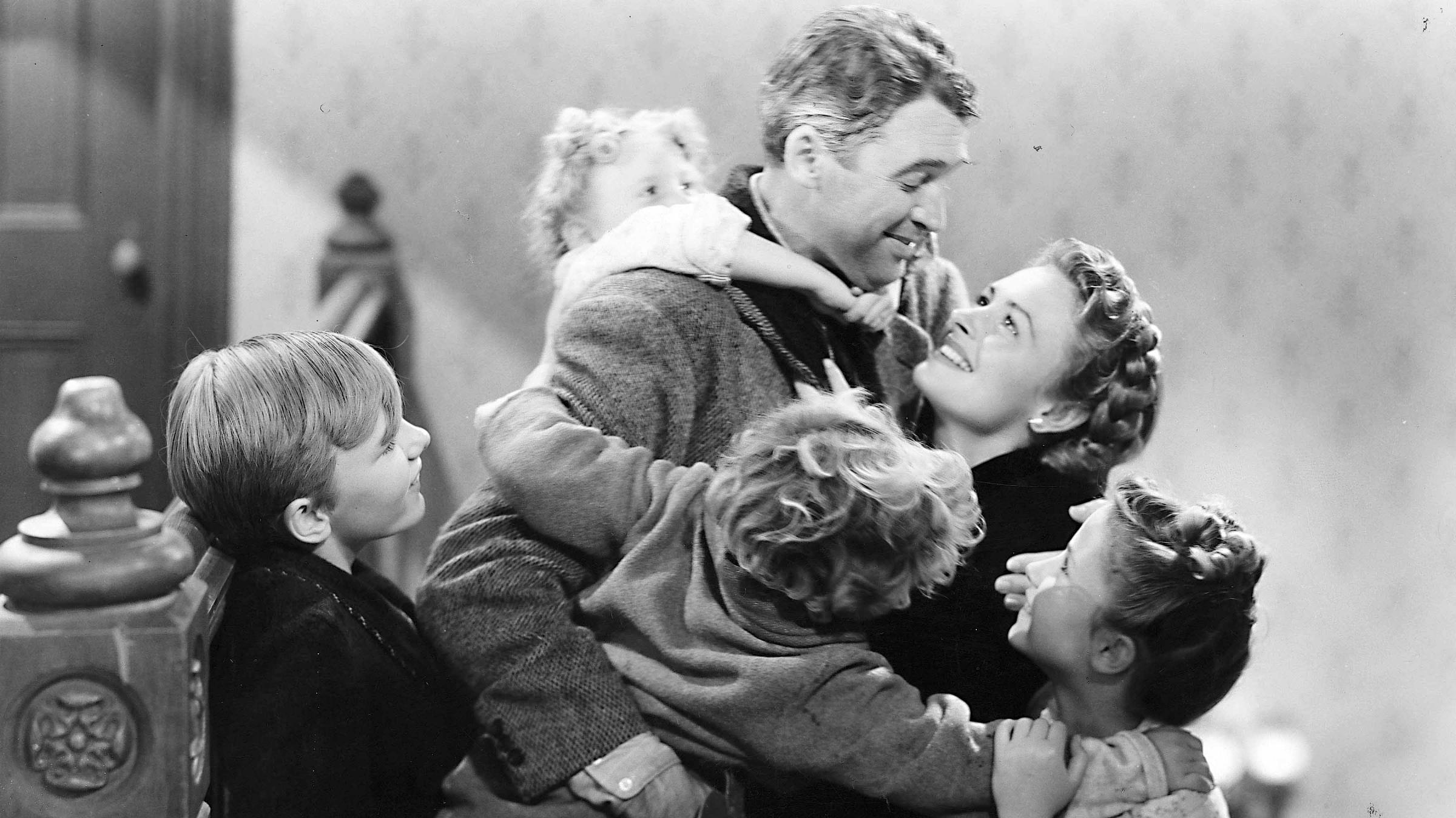 It's a Wonderful Life has been voted as Britain's favourite Christmas film in a Radio Times poll