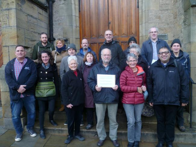 hundreds of people sign petition against durham county council s