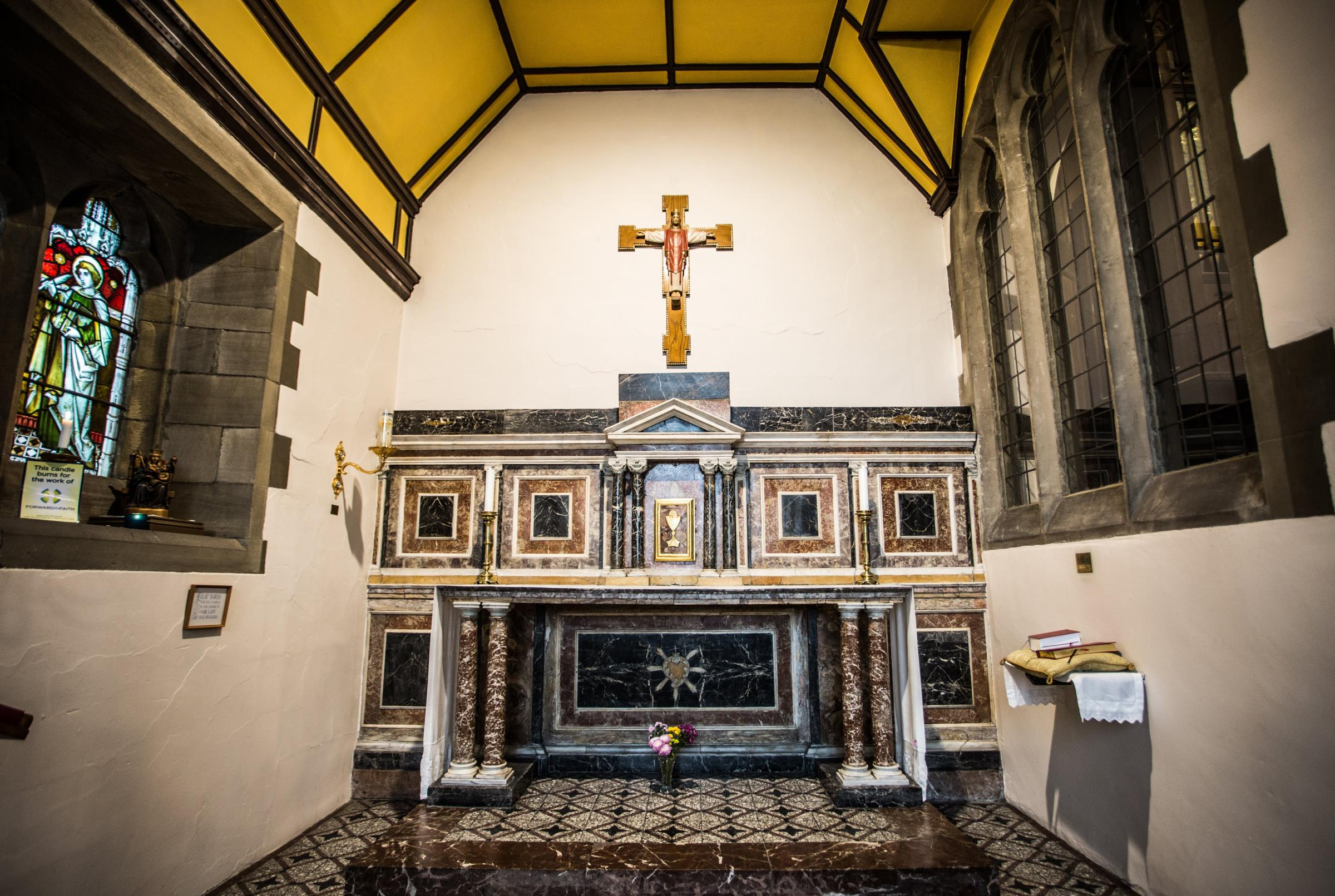 SPANISH ALTAR: Have we found an appropriate theory to explain why this 17th Century Spanish altar is in a 19th Century church in Spennymoor?
